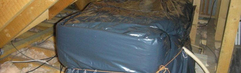 Attic Tank Jacket Attic Tank Insulator Dust Cover For
